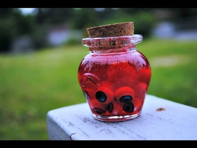 Jar of Eyeballs (Polymer Clay Tutorial)