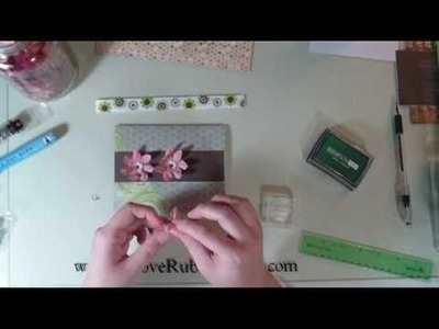 Making Silk Flower Embellishments for Cards