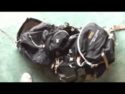 My round the world backpack and jacket