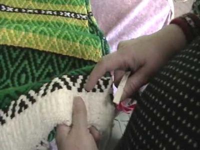 Nancy Today: How to weave diamond twill (weaving 78) ASMR weaving
