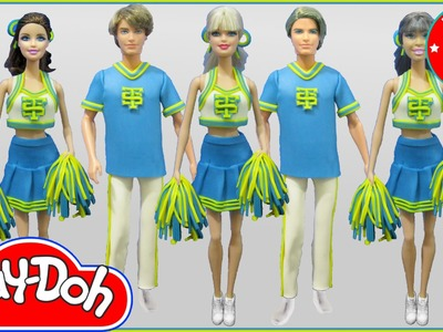 "Play Doh Inspired Costumes ""Shake It Off"" - Cheerleaders"