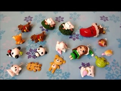 Polymer Clay Charm Update #7! - More Christmas Charms, Kawaii Animals And More!