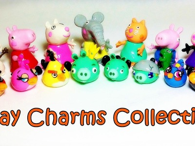 Polymer Clay Collection Review (Peppa Pig, Angry Birds, Disney Frozen)