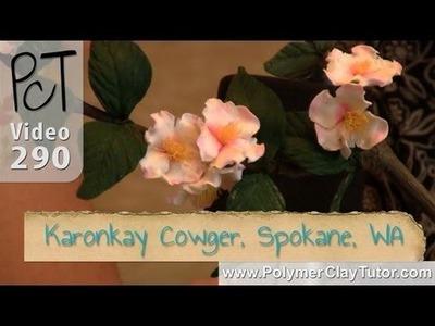 Polymer Clay Flowers | Karonkay Cowger | Spokane Washington