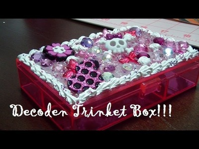 Quick and Easy DecoDen Trinket Box Tutorial!!