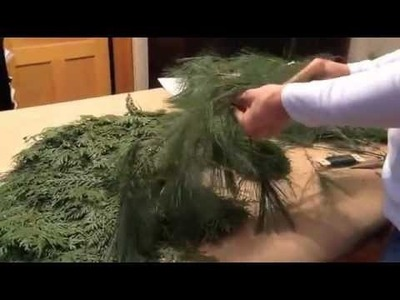 Red Scarf Equestrian: Making Horse Head Wreath Part 3 of 3