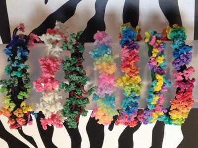 Sea Coral Bracelet On Rainbow Loom