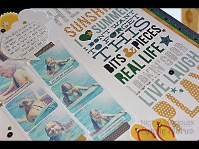 Simple Stories | Combining Die Cuts with A Charmed Life Collection