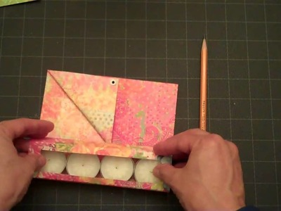 Tea Light Candle Greeting Card
