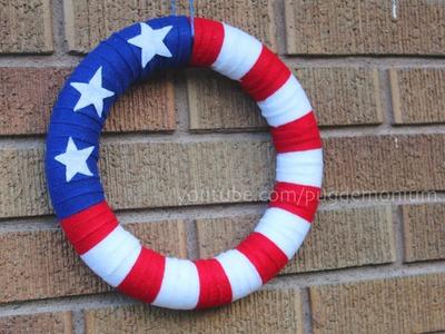 Tutorial: 4th of July Wreath