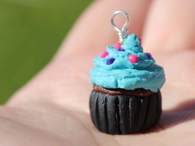 Tutorial: Polymer Clay Cupcake