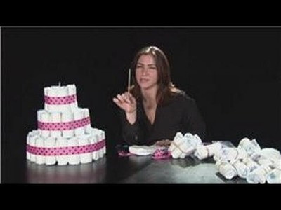 YT - Baby Showers : Make This Baby Shower Diaper Cake