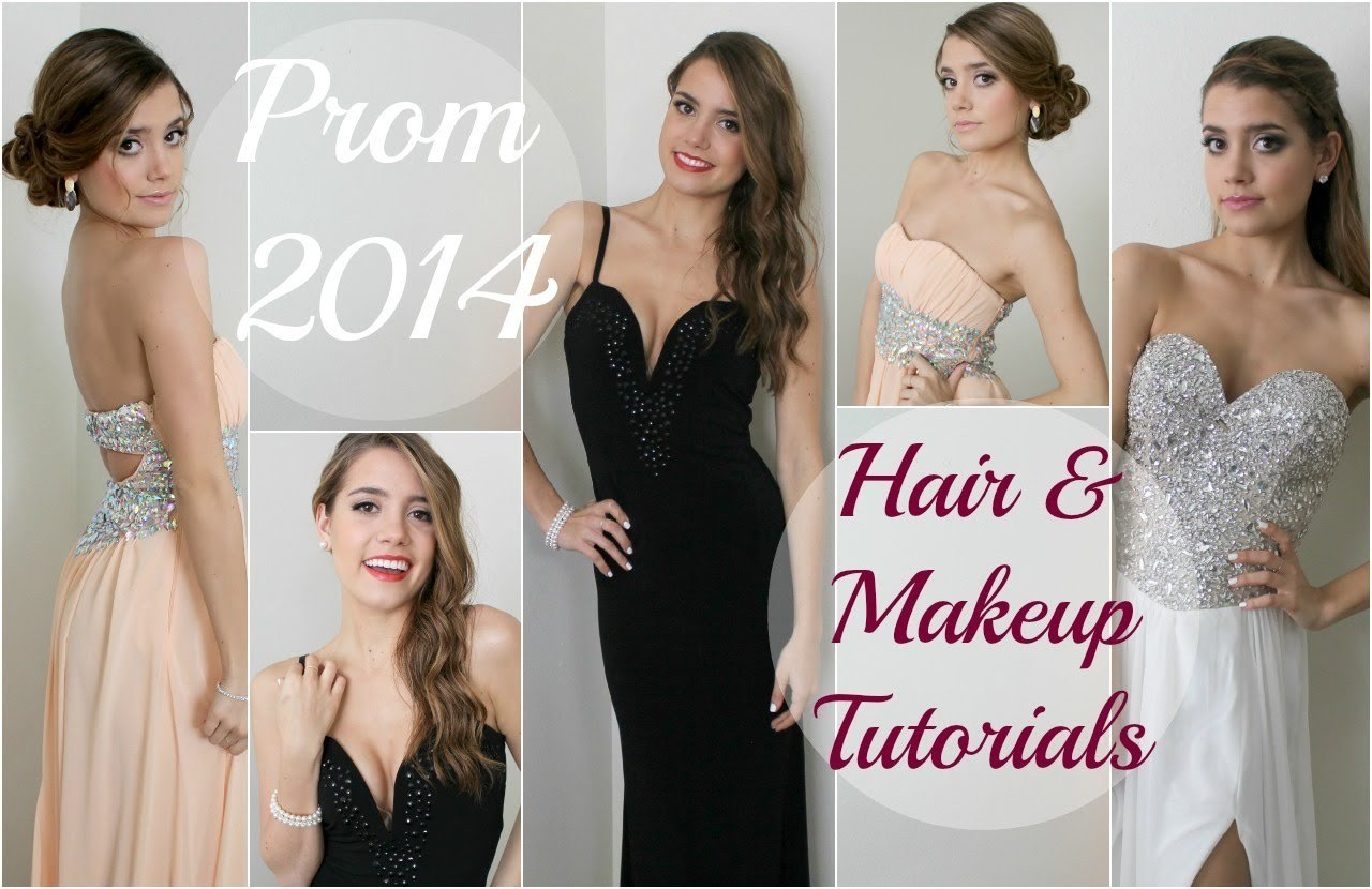 3 Prom Styles | Hair & Makeup Tutorials!