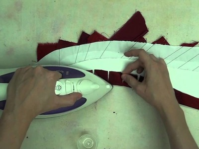 59. Learn how to Turn Applique Edges for Foundation Piecing + Applique