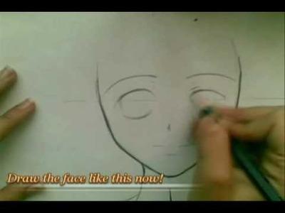 Anime slow tutorial-how to draw Manga