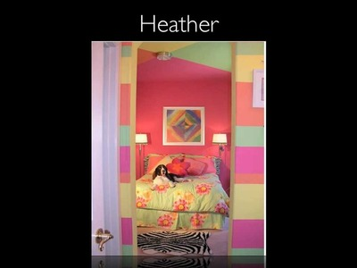 BEDROOM DESIGN  for Kids and Teens.  YOU BE THE JUDGE!