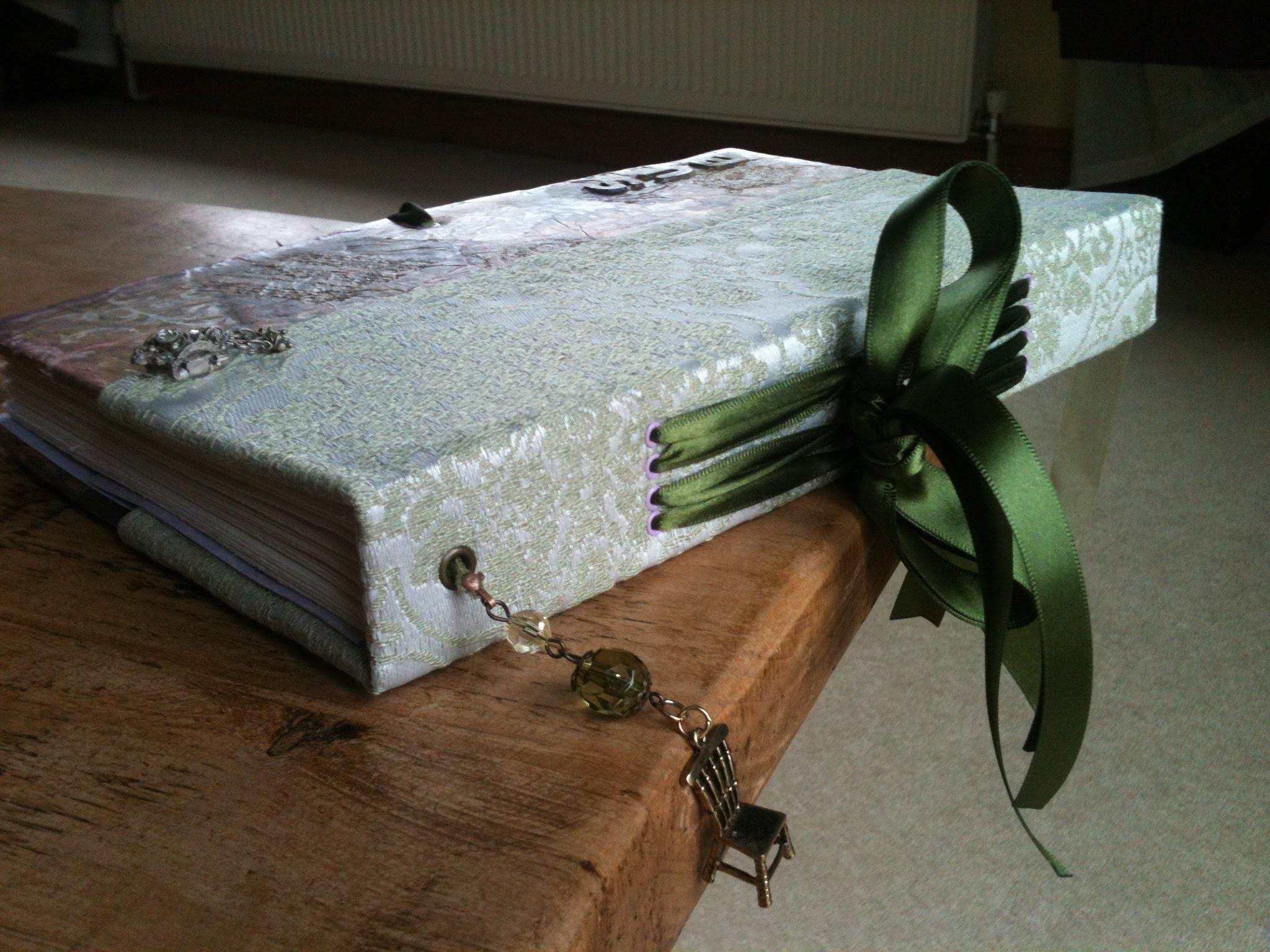 Book Binding : Ribbon Binding