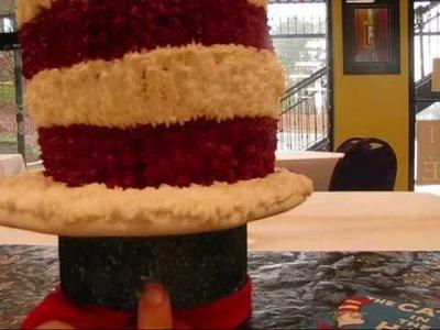 Cake Decorating : Cat In The Hat Cake  Custom Decorated Cakes