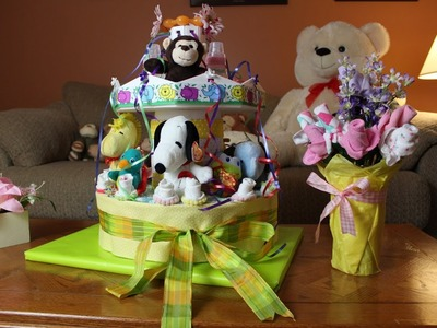 Carousel Diaper Cake -  How To Make