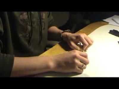 Cobra knot stitch-how to