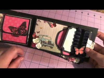 Coin envelope Mini Album For Lori 4a swap @ Minialbumscraps.ning.com