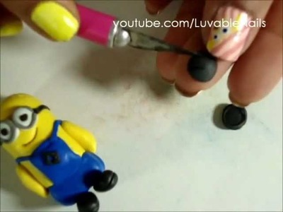 Despicable Me 2 Key Chain Polymer Clay by LuvableNails