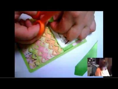 Dimensional Ruffle Card Tutorial
