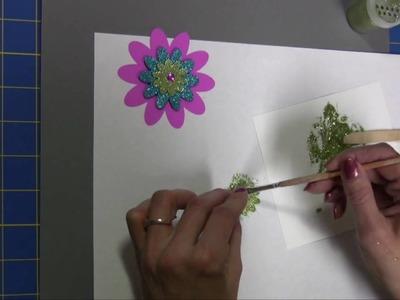 Easy-to-Make Glitter Paste