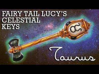 Fairy Tail Lucy's Celestial Key Polymer Clay Tutorial (Taurus)
