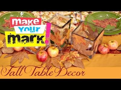 Fall Table Setting Ideas!