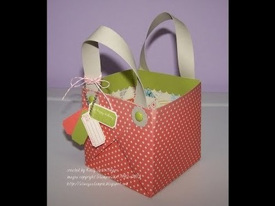FUN FOLDS No Trim Paper Basket with Kelly Gettelfinger