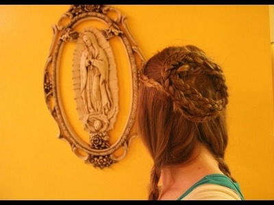 Game of Thrones Hair: Medieval Braided Hair Wreath, Inspired by The Lady of The Vale, Lysa Arryn.