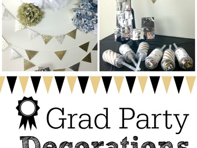 Grad Party Decorations | Owlbeteen