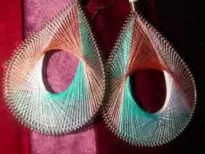 Handmade  Thread Earrings