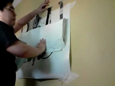 How to apply your own wall vinyl decal