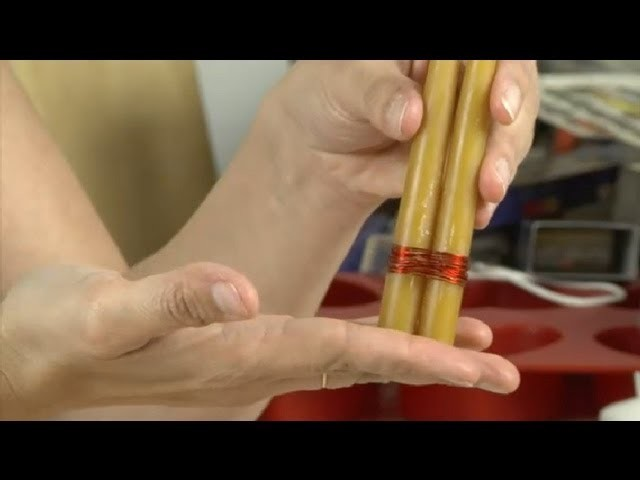 How to Bind Candles : Candle Making & More