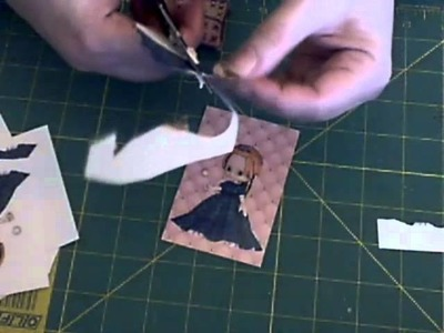 How To Decoupage ( Using Tin Teddy Clip Art )