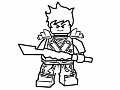 How to draw Ninjago