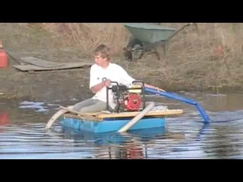How to Make a Barrel Boat With Jet Pump!