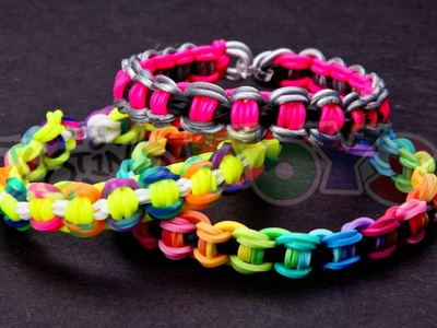 How to Make a Bicycle Chain Rainbow Loom Bracelet