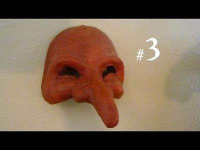 How to Make a Pantalone Mask, Part 3