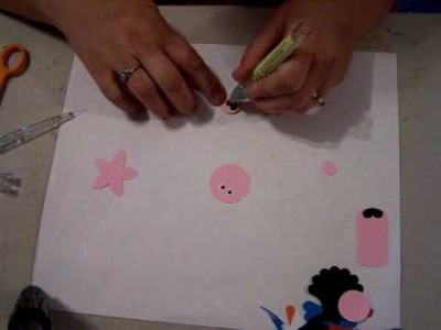 How to make a pig from punches