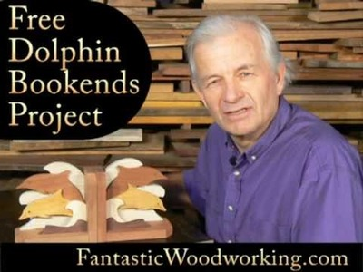 How to make a set of Dolphin Bookends
