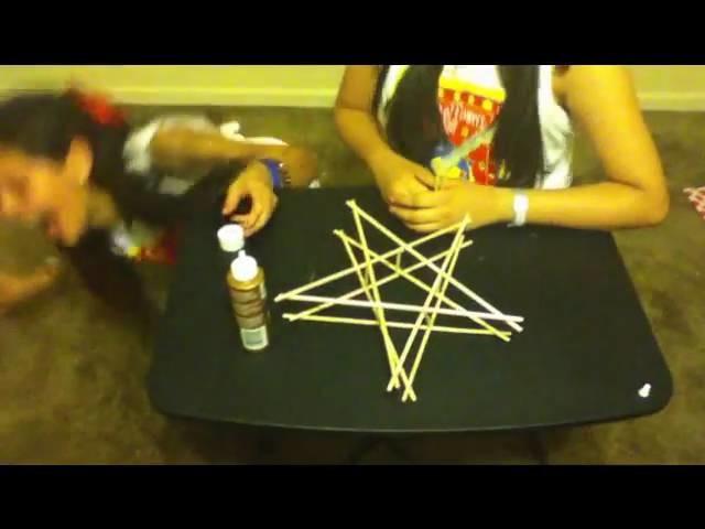 How to make a star lantern