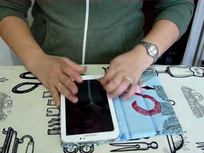 How to make a tablet cover