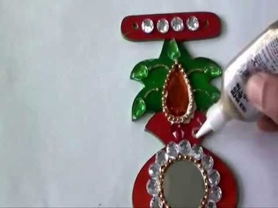 How to make a wooden toran door hanging