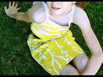 How To Make An Upcycled Sunshine Dress