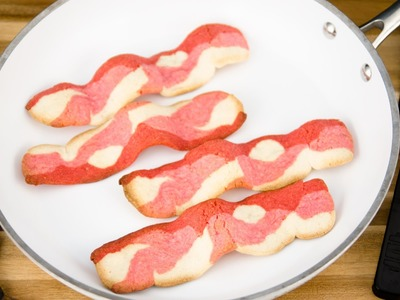 How to Make Bacon Cookies for Father's Day from Cookies Cupcakes and Cardio