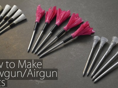 How to Make Blowgun.Airgun Darts