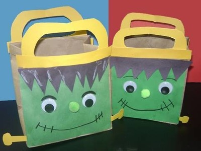 "How to make cute picnic bag - Inspired by ""Frankenstein"" -The book by Mary Shelley - EP"